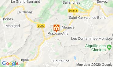 Mapa Praz sur Arly Apartamento 62967