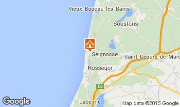Mapa Hossegor Villa 38252