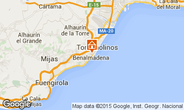 Mapa Torremolinos Apartamento 44794