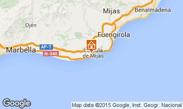 Mapa La Cala de Mijas Villa 92617