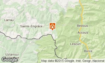 Mapa Arette La Pierre Saint Martin Estudio 40610