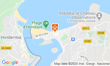Mapa Hendaya Apartamento 82386