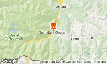 Mapa Saint Lary Soulan Apartamento 4489