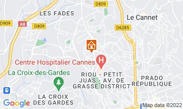 Mapa Cannes Villa 87332
