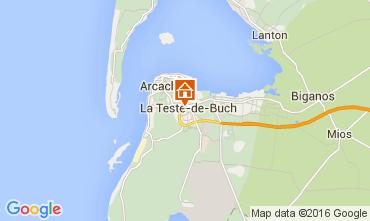 Mapa Arcachon Apartamento 93098