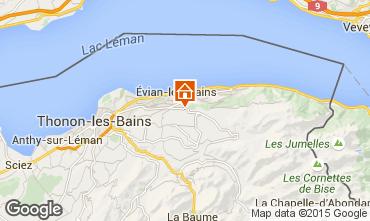 Mapa Evian les Bains Apartamento 92987