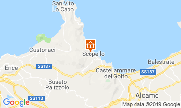 Mapa Scopello Apartamento 80627
