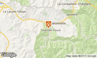 Mapa Pra Loup Chalet 76233