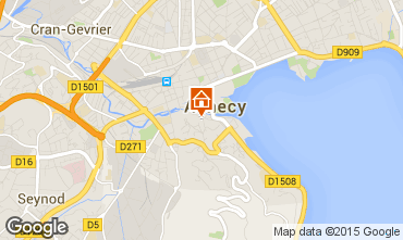 Mapa Annecy Apartamento 87661