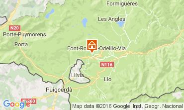 Mapa Font Romeu Chalet 64073