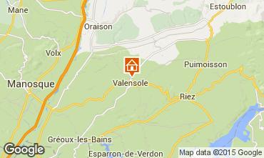 Mapa Valensole Villa 101509