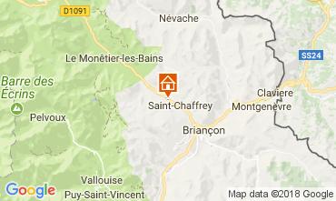 Mapa Serre Chevalier Chalet 112915