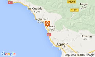 Mapa Agadir Apartamento 73626