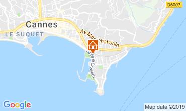 Mapa Cannes Apartamento 45923