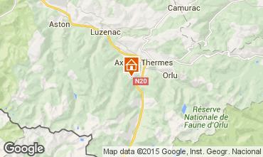 Mapa Ax Les Thermes Chalet 67769