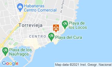 Mapa Torrevieja Apartamento 75230