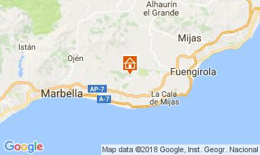 Mapa Marbella Apartamento 112989