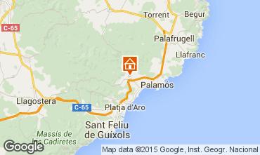 Mapa Calonge Casa 92518