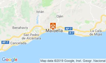 Mapa Marbella Apartamento 67370