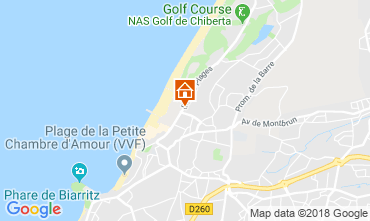 Mapa Biarritz Apartamento 82742