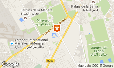 Mapa Marruecos Villa 81043