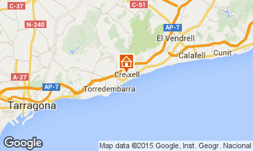 Mapa Torredembarra Casa 85188