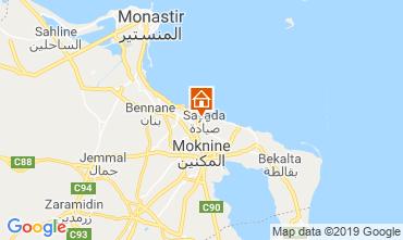 Mapa Monastir Apartamento 117701