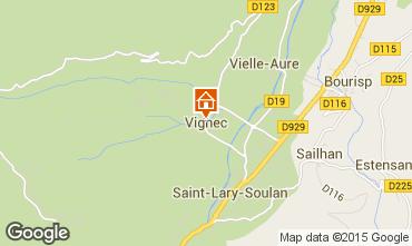 Mapa Saint Lary Soulan Apartamento 79407