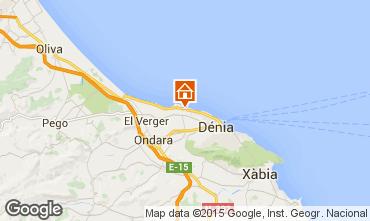 Mapa Denia Apartamento 31192