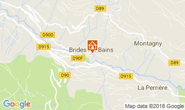 Mapa Brides Les Bains Apartamento 114912