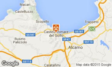 Mapa Castellammare del Golfo Apartamento 70426