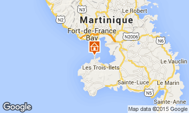 Mapa Trois Ilets Apartamento 96101