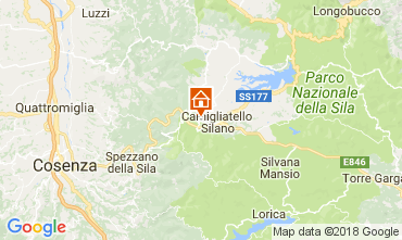 Mapa Camigliatello silano Apartamento 74950