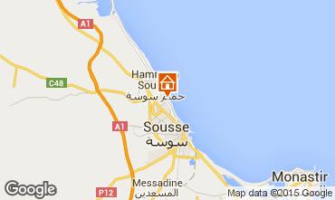 Mapa Sousse Apartamento 80547