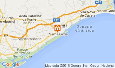 Mapa Tavira Apartamento 105023