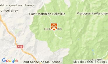 Mapa Les Menuires Apartamento 111788