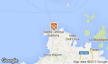 Mapa Santa Teresa di Gallura Apartamento 84500