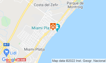 Mapa Miami Playa Apartamento 117874