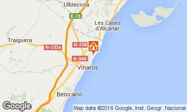 Mapa Vinaroz Villa 85088
