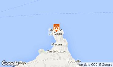 Mapa San Vito lo Capo Apartamento 63922