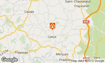 Mapa Cahors Casa 94738