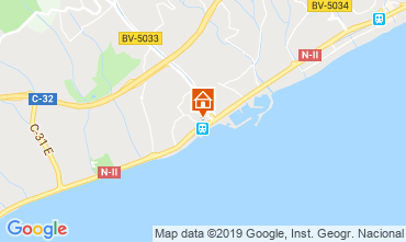 Mapa Barcelona Apartamento 76574