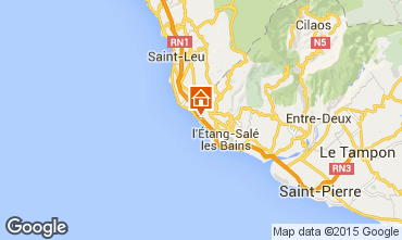 Mapa Saint Leu Mobil home 94595