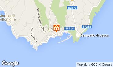 Mapa Santa Maria di Leuca Apartamento 79206