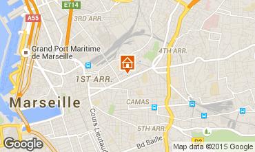 Mapa Marsella Apartamento 93856