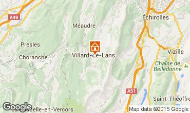 Mapa Villard de Lans - Corren�on en Vercors Apartamento 79537