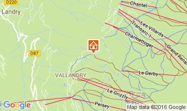 Mapa Peisey-Vallandry Apartamento 106831