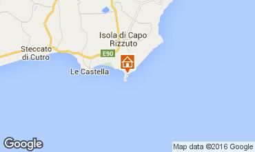 Mapa Isola di Capo Rizzuto Apartamento 102410