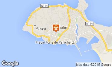 Mapa Peniche Villa 46515