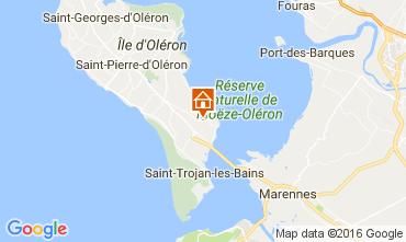 Mapa Le Château d'Oléron Casa 107551